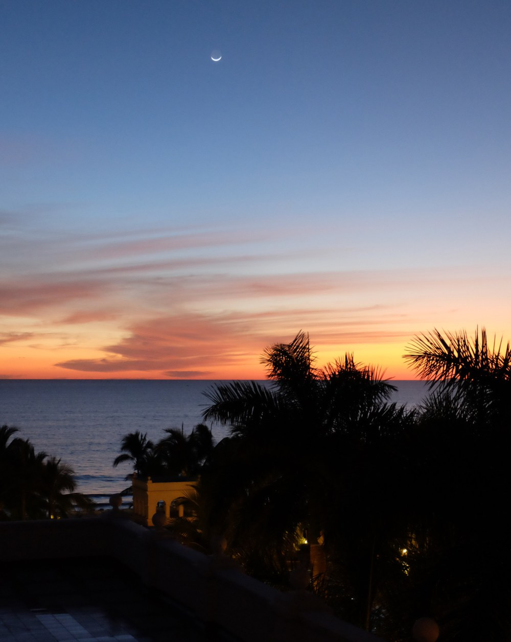 Sunset at the Riu Palace Pacifico
