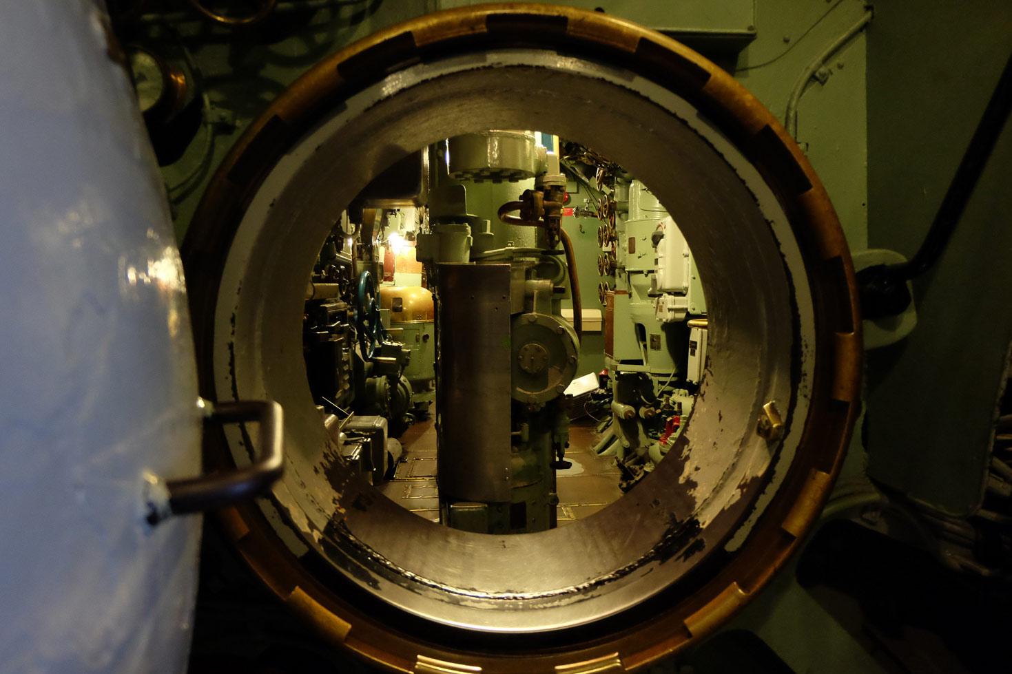 The U3 submarine at Malmö museum