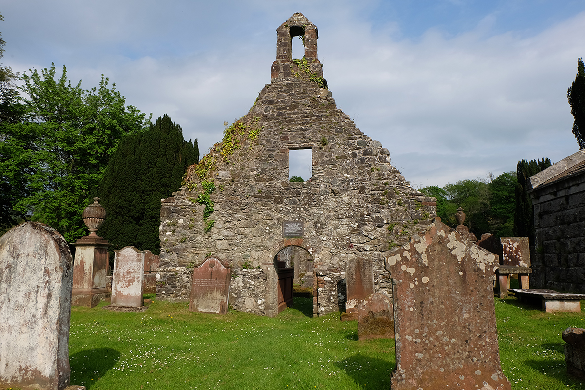 The ruined kirk at Anwoth