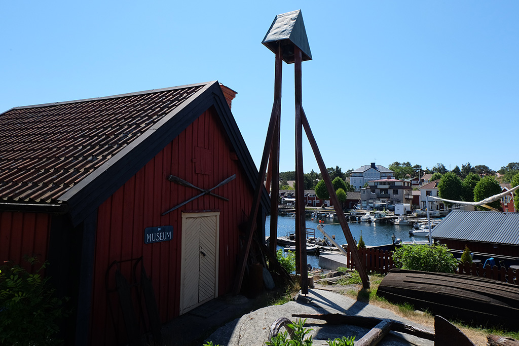 The island museum at Sandhamn