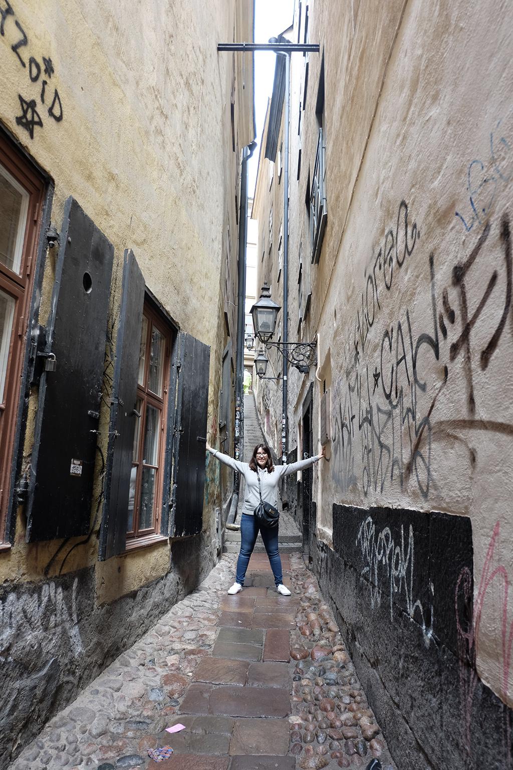 Mårten Trotzigs gränd - Stockholm's narrowest street