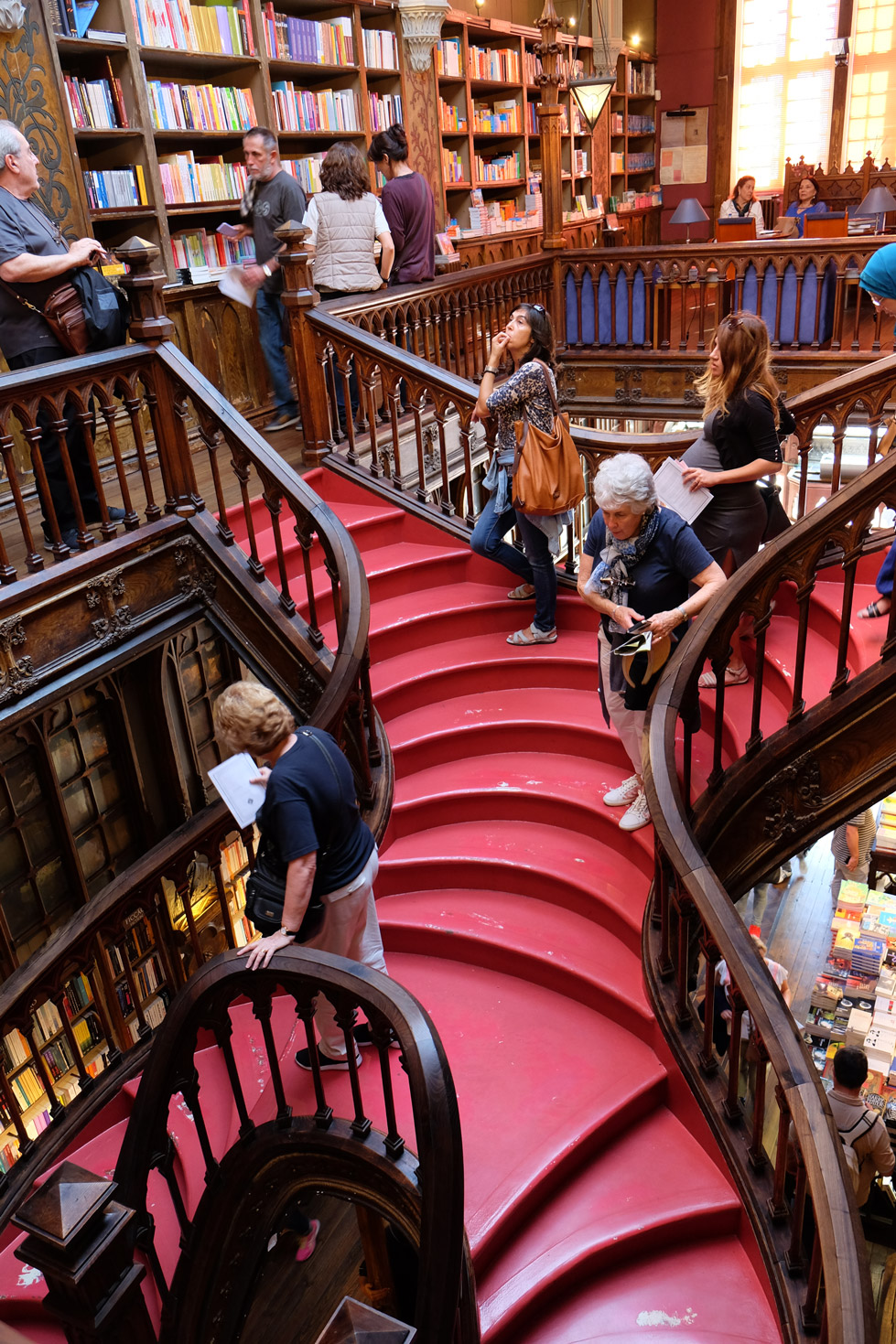 The lovely Livraria Lello bookshop in Porto