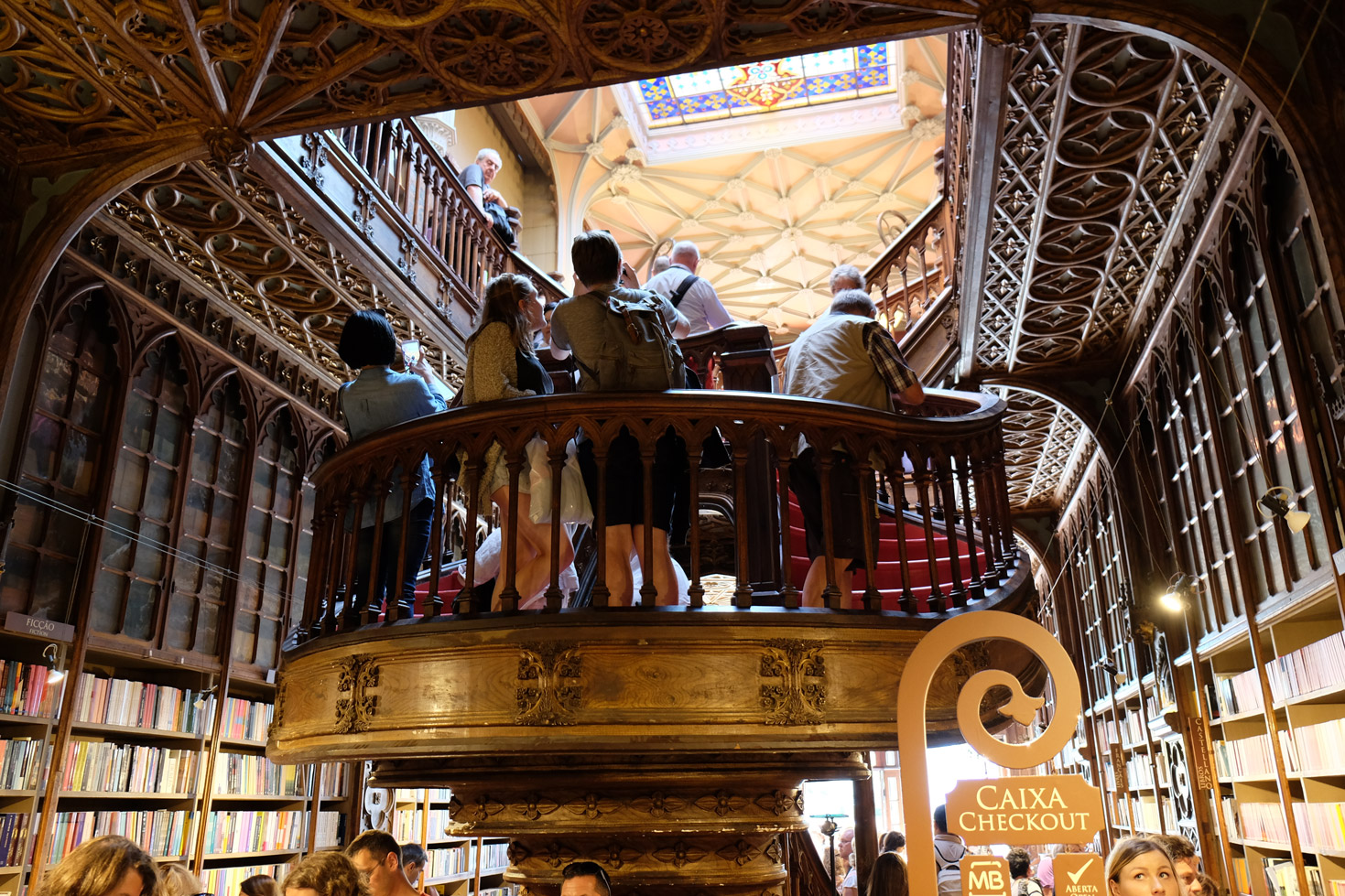 Very busy but a must-see if you're in Porto