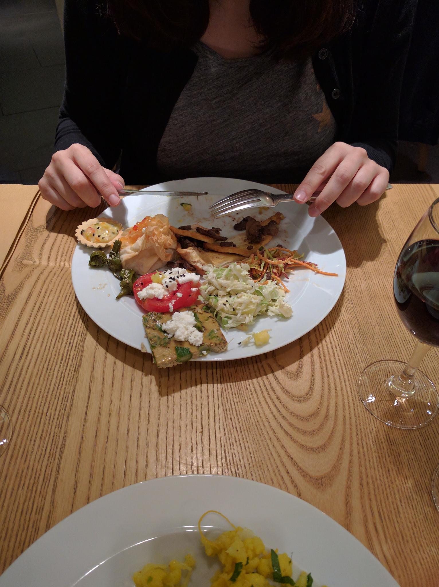 A little bit of everything at DaTerra vegetarian buffet