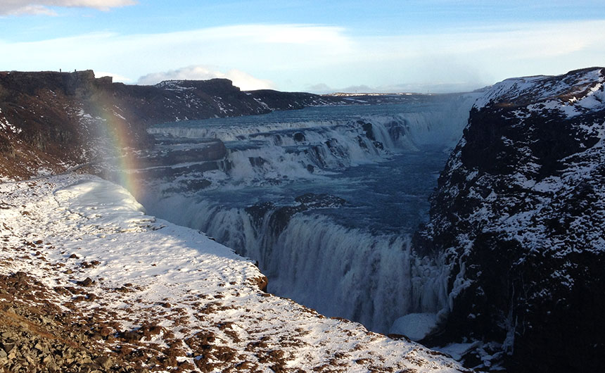 Visiting Iceland in February