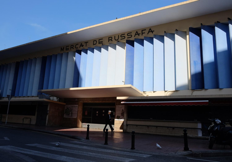 "The Mercat de Russafa in Valencia's ""hipster"" neighbourhood"