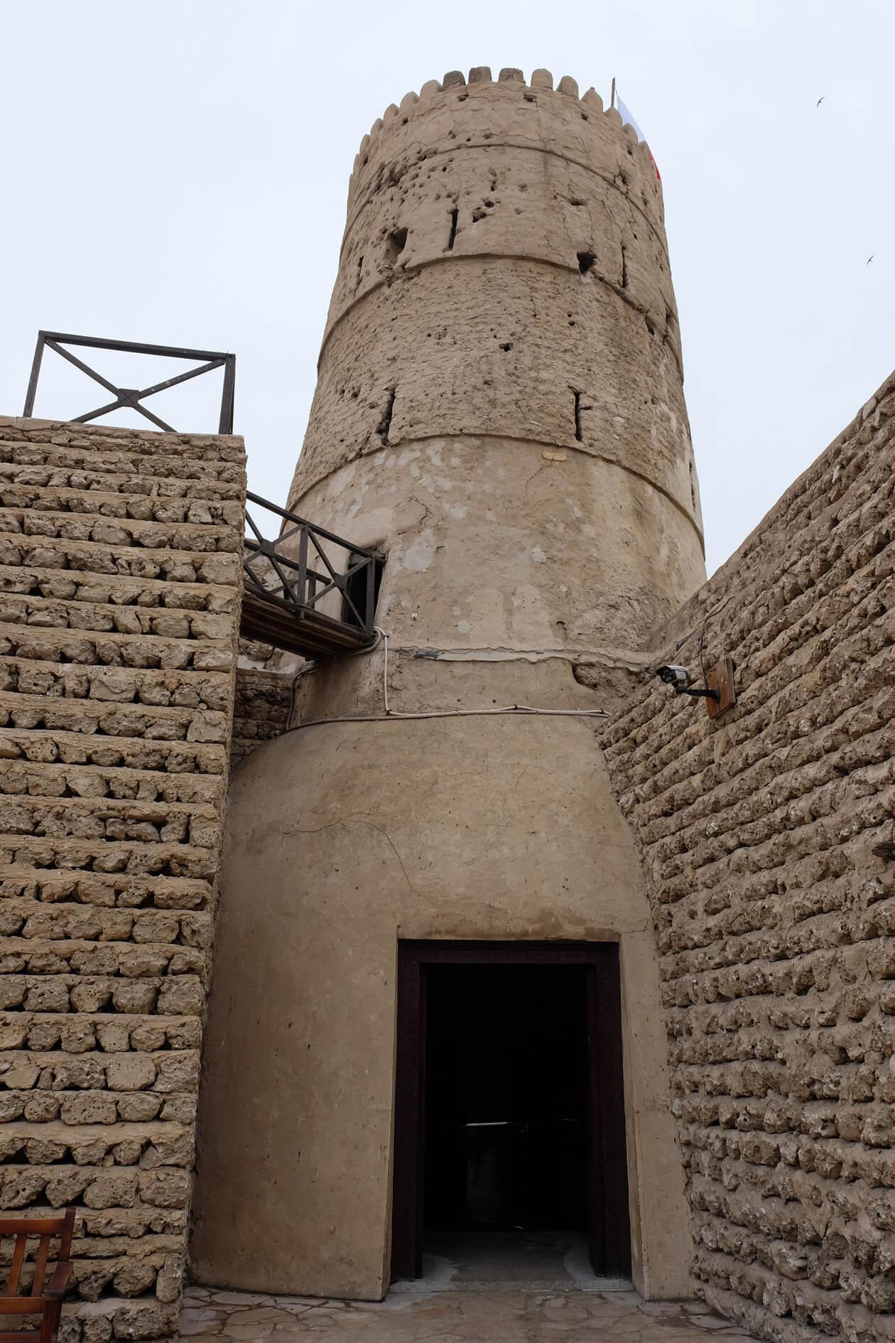 The Dubai Museum is housed in the Al Fahidi Fort - Dubai's oldest building