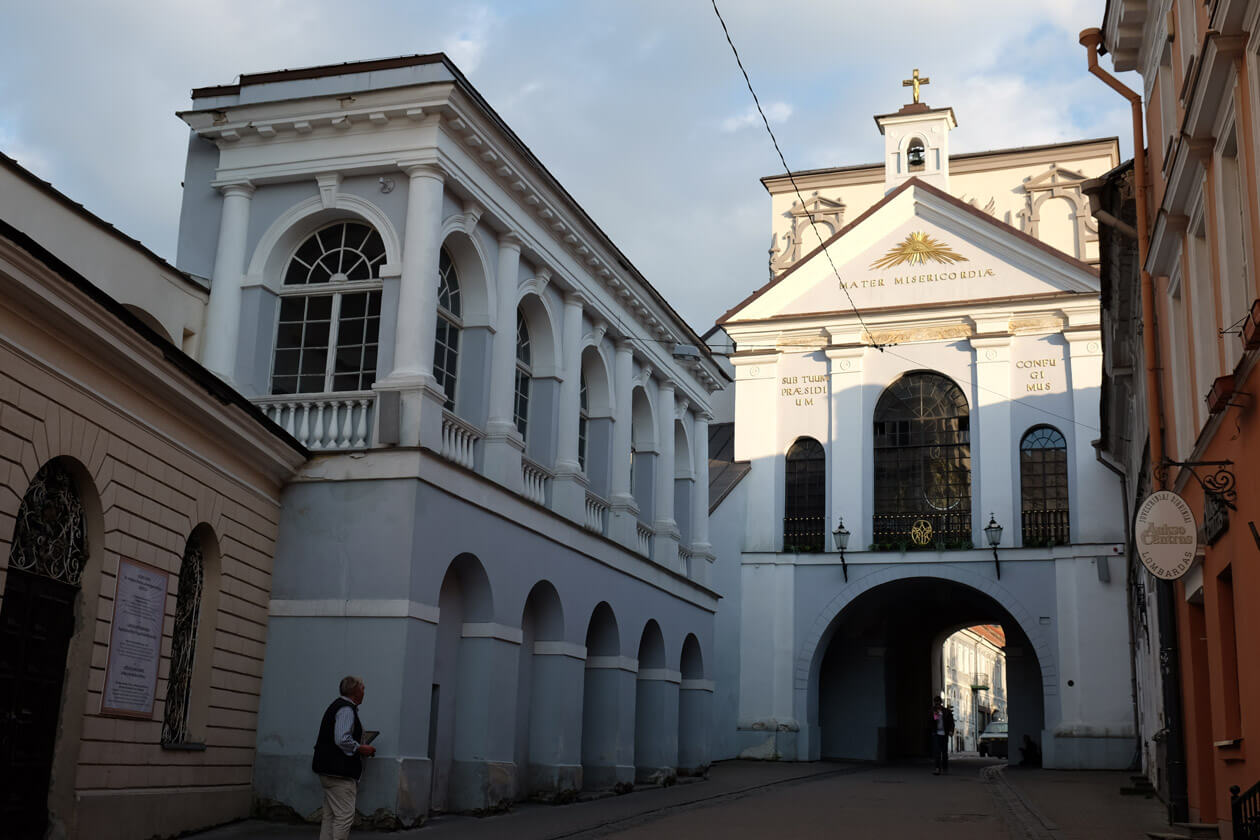 The Gates of Dawn, Vilnius's last remaining city gate