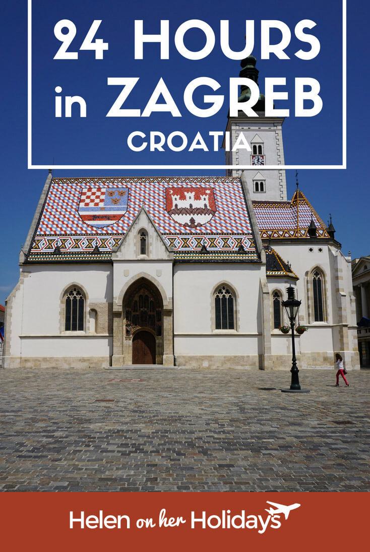 24 hours in Zagreb
