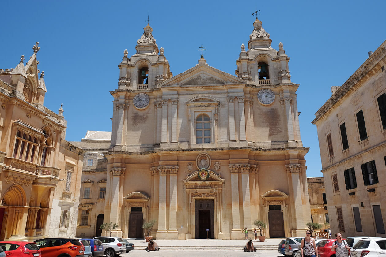 The Cathedral in Mdina