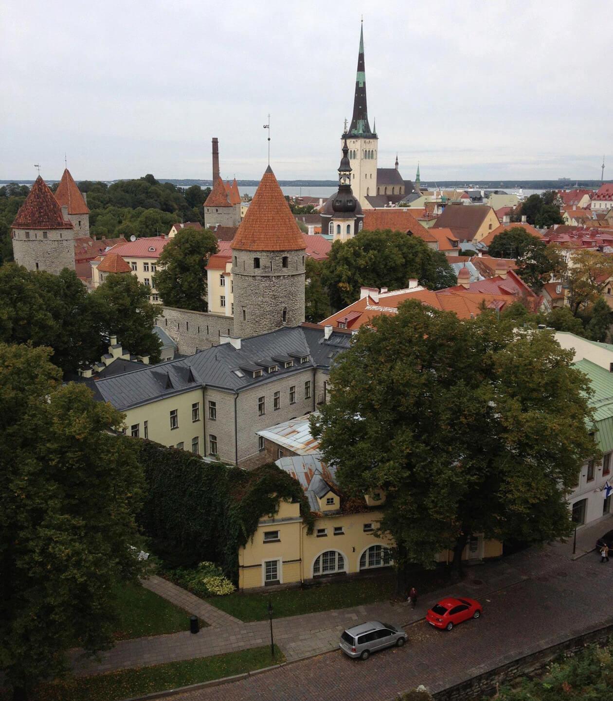 Tallinn, Estonia's lovely walled capital