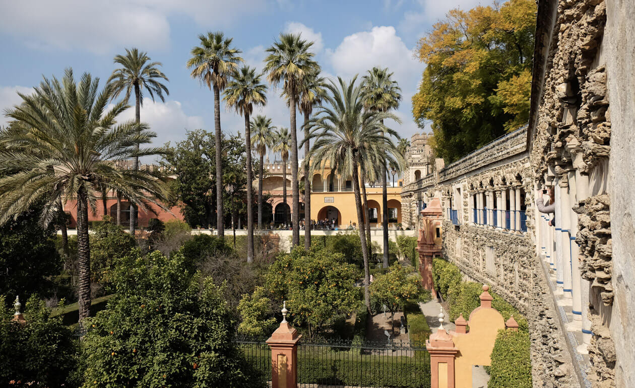 The stunning gardens - just like heaven