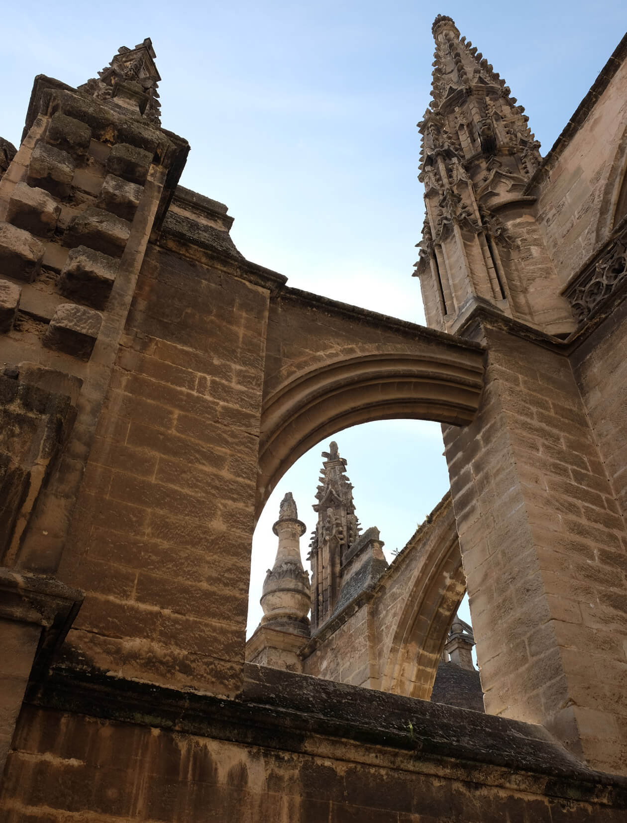 A guided tour of the cathedral rooftop is an unforgettable experience