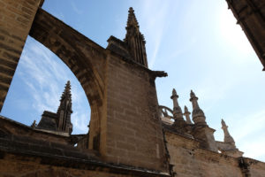 Up close with Seville cathedral on a guided tour of the roof
