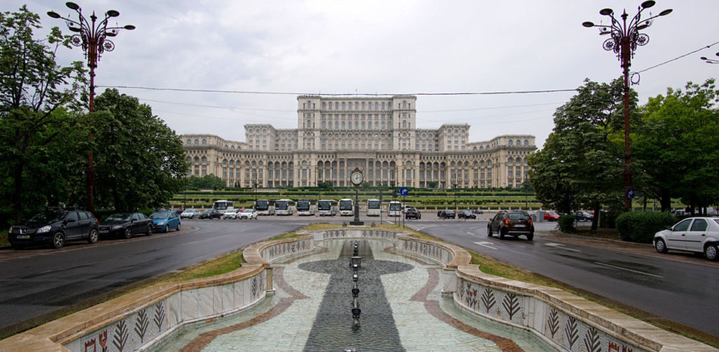 The Palace of the Parliament, Bucharest, the heaviest building in the world