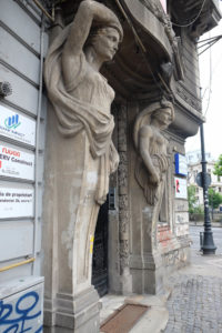 """Many of the most mundane buiildings in the city centre have incredible details from the days when Bucharest was known as the """"Paris of the East"""""""