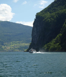 On the Aurlandsfjord