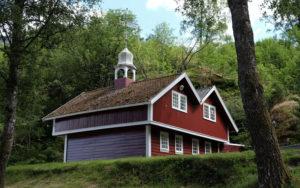 Cute houses in Flåm