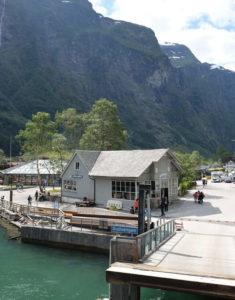 Leaving Gudvangen, a tiny village at the innermost part of the Nærøyfjord