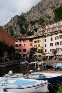 Limone's picturesque harbour