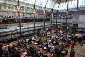 Mackie Mayor takes the principle of a food court and makes it cool. It's set in one of the old market halls.