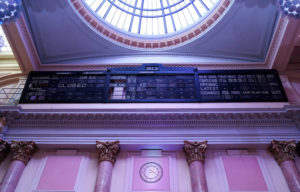 The building that now holds the Royal Exchange theatre used to be a commodities exchange for the cotton industry
