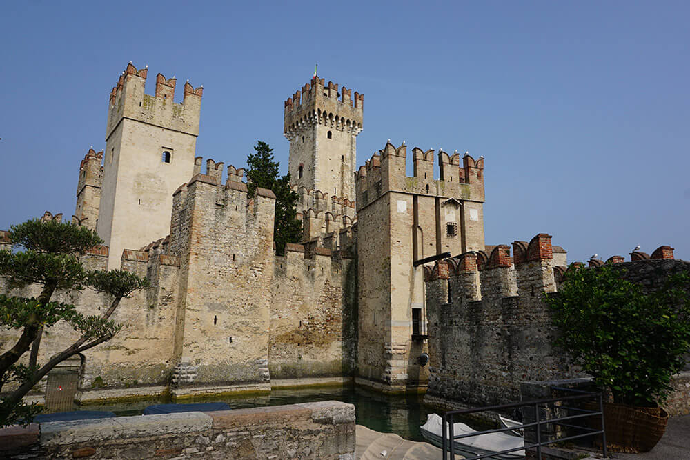 Sirmione Castle was built in the 13th century