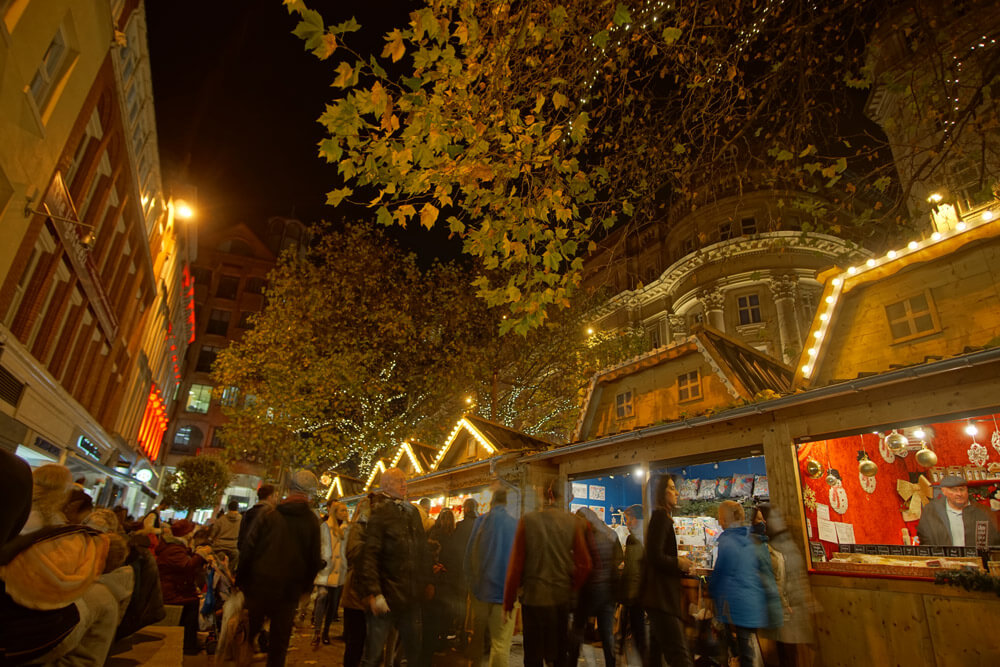 Another Christmas market in Manchester, this time in St Ann's Square
