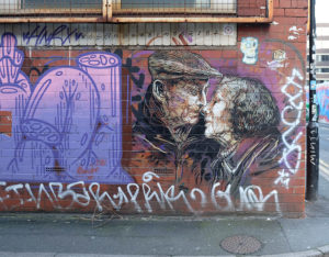 Street art in the Northern Quarter