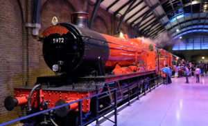 The Hogwarts Express at the Warner Brothers Studio Tour