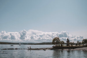 Taking a boat trip on Oslo's fjords
