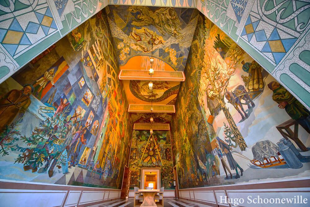 The Rådhus in Oslo has amazing decoration