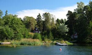 A peaceful spot in the Helsinki archipelago