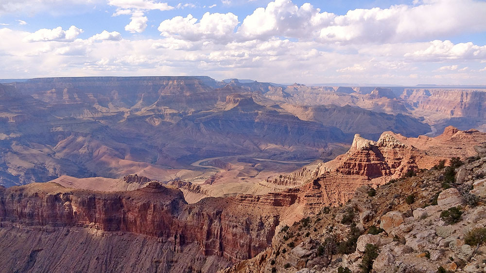 On my first visit to North America I got to see the Grand Canyon