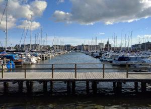 Helsinki has one of the prettiest waterfronts I've seen