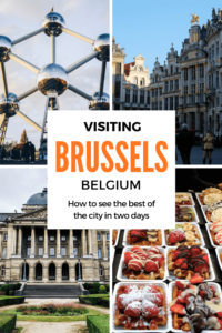 Visiting Brussels in two days