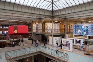 The Belgian Comic Strip Centre is a museum dedicated to Belgian comics