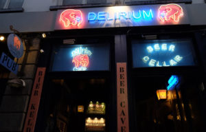 The Delirium Café has over 2000 beers available to buy