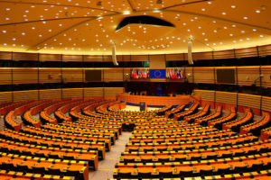 You can take a self-guided tour of the European Parliament