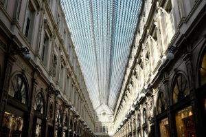 Galerie de la Reine in Brussels is a beautiful shopping arcade in Brussels
