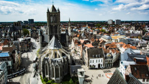 Ghent is a popular day trip from Brussels