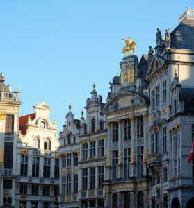 A corner of the Grand Place
