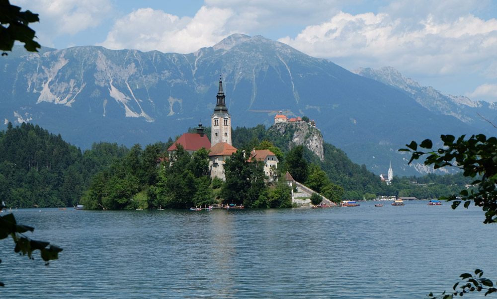 Lake Bled is a really easy day trip from Ljubljana