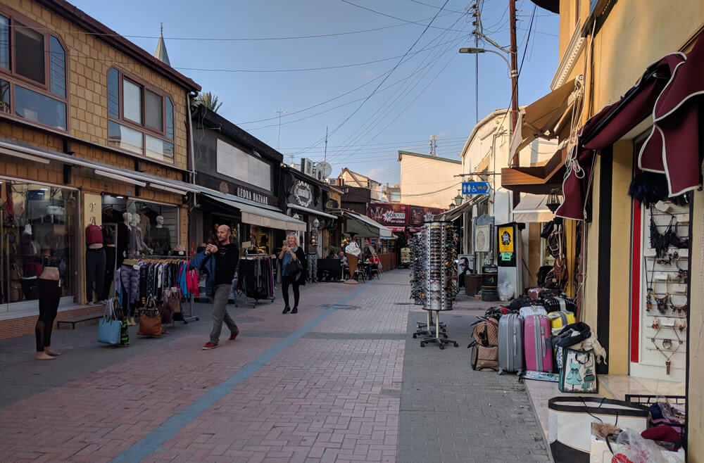 What was Ledra Street continues into North Nicosia - but looks very different