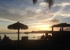 Amazing sunset on a 30th birthday cruise