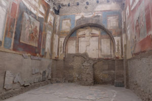 Stunningly well-preserved wall paintings