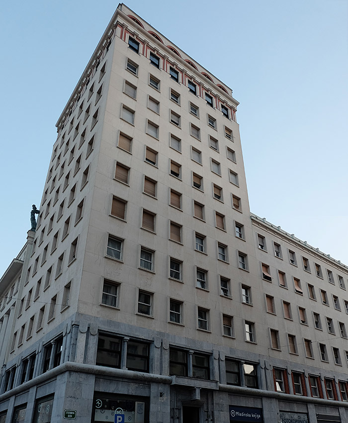 It might not look like it, but Nebotičnik was once one of the tallest buildings in Europe