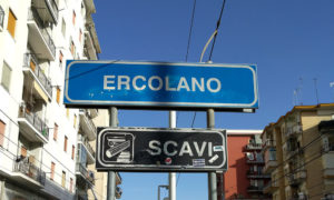 The station at Ercolano is around 10 minutes' walk from the ruins, and has direct trains to Naples, Sorrento and Pompeii