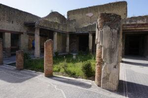 A villa in Herculaneum