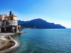Katy spent her 40th birthday on the beautiful Amalfi Coast